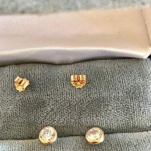 14K Stud Earrings- Pierced